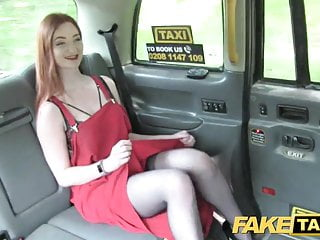 Comport oneself Taxi Olive skin redhead in lingerie