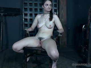 Mouth bondage play about a tight up cutie