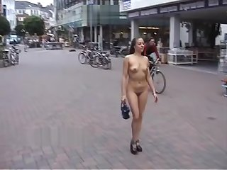 1206Naked in the street B Gladbach