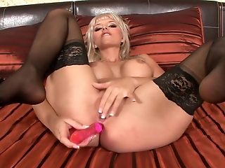 Exotic lovemaking industry reputation Stella Delcroix in greatest blondie, dildos/toys lovemaking vid
