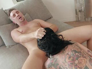 Left alone trollop Joanna Angel needs someone like Keiran Lee for hardcore