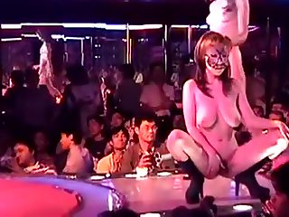 Japanese Strip Club Lovemaking Show Part 1