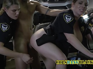 Rasta is banged by these perverted MILFS