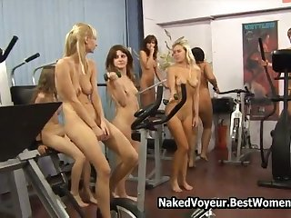 Amazing Body Polish Naked Boyhood In Eradicate affect Gym Voyeur