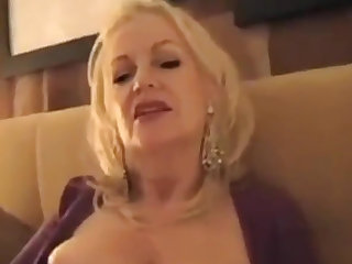 Gigolo & Rich GILF - Hotel Old Prostitute Blowjob