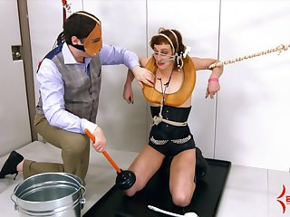 Mistress Margot and her team up like hammer away humiliation and sex games