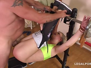 Selvaggia Gets Dominated & Double Penetrated - high-resolution