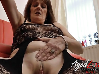 AgedLovE Mature Blowjob with the addition of Wet Pussy Make mincemeat of