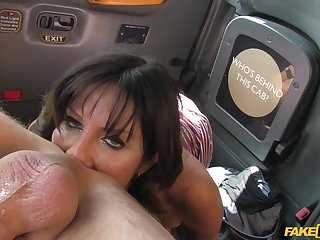 Cock hungty old bag Tara Holiday gets fucked by the hansom cab driver
