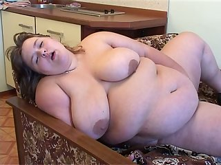 This BBW whore loves showing off and imagine things you'd do to her fat body