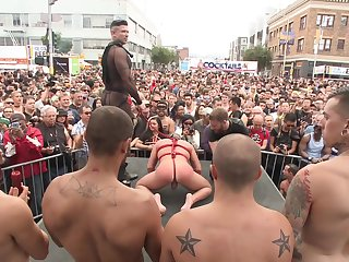 Gay parade and anal orgies for an obstacle naughty twinks