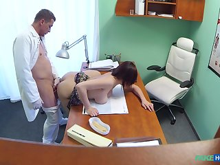 Untrained with chunky tits, deep sex purchase the doctor's office
