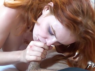 Competition porn motion picture featuring red haired POV bitch Barbara Babeurre