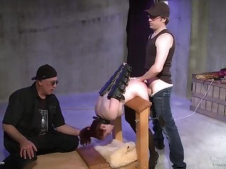 Mind begrimed BDSM in cuckold scenes for the disintegrated become man