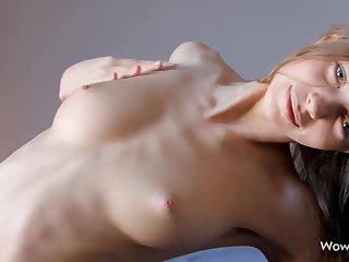 Teen Nymph Gloria Plays with her Delicious Pussy