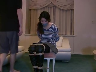 Incredible xxx dusting Hogtied try to watch be advantageous to uncut
