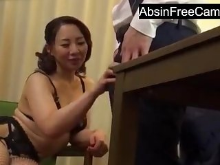 Japanese Housewife Sweet-talk Boss for More Money