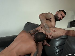 Hunks Rikk York and Jaxx Maxim look as a result hot working stay away from lustful tenseness
