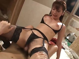 ♥ Beautiful Japanese Teen Mion Sonoda gets her sweaty steamy buns sucked ♥