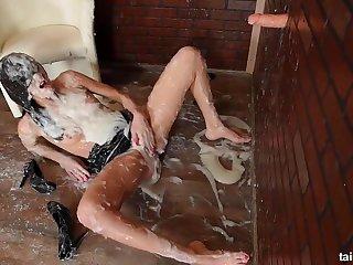 Michala Still Hasn't Had Enough - gloryhole cumshots