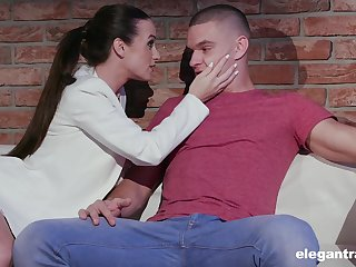 Passionate temptress Vinna Reed is fucked by hot blooded lover