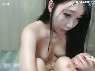 Delightful Chinese devilish likes casual sex in a doggy known position, in front of the camera