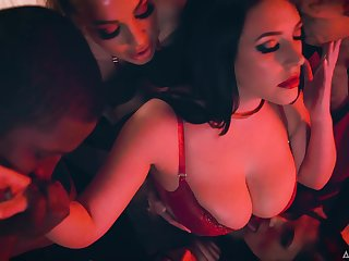 Steamy and worth watching compilation with charming lady Abigail Mac