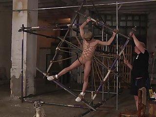 Must-see uncaring bondage endeavor with Sebastian Kane added to Daniel Hausser