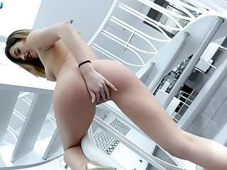 Sexy cock addict Penelope Cum proffers the best POV blowjob
