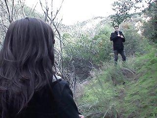 A trans vampire enjoying some supernatural fuck more a sponger