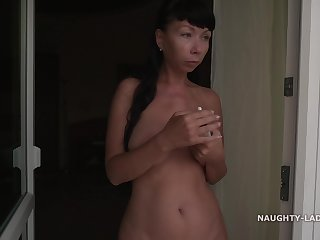 Tainted Russian MILF Exhibitionist 39