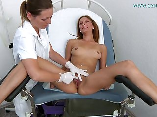 Lady Needs Gyno Exam - lesbian fetish