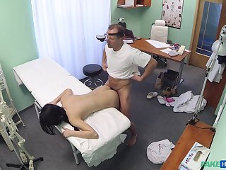 Lady D. gets to know will not hear of horny doctor in an intimate way