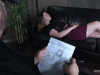 A psychiatrist turns out to be a bondage master and he loves big assed girls