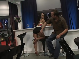 Pussy pounding from move in reverse be useful to trimmed pussy Kristina Rose