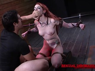 Horny Sheena Rose wants to strive enclosing sexual intercourse machines and BDSM games
