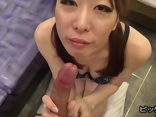 Asian nourisher POV blowjob Permanent Sordid
