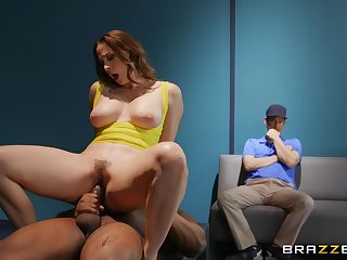 Struggling, sex-starved football player fucks coach's wed Chanel Preston