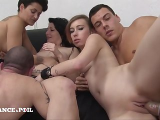 Dispirit France A Poil - Team a few Hotties Gets Hard Banged In A