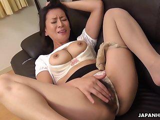 Japanese mature, Rei Kitajima wants orgasms, un