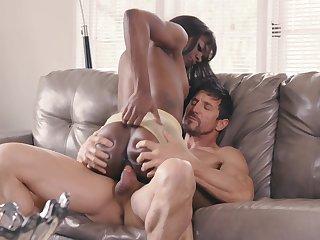 She's an amazing ebony approximately great cock riding skills