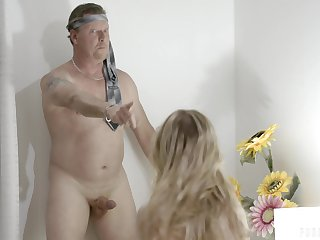 An old man gets tricked into having a threesome with their nanny