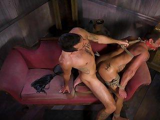 Hottest gay BDSM session involving Draven Navarro and Brian Adams