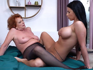 Granny set of beliefs hot explicit lesbian sex