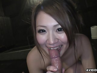 Japanese Dame Saori Ono Sucks Cock In Pov
